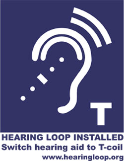 assistive services hearing loop logo