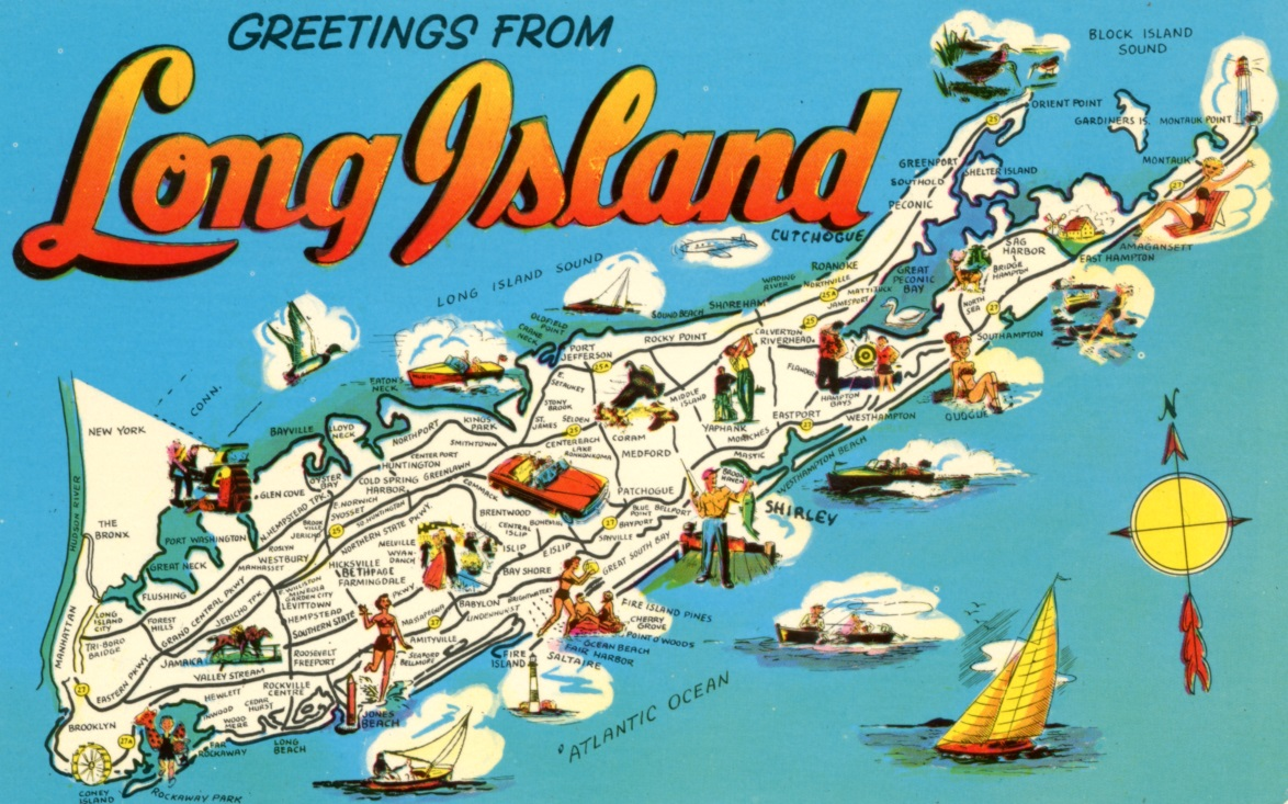 Greetings From The Long Island Room The Smithtown Library