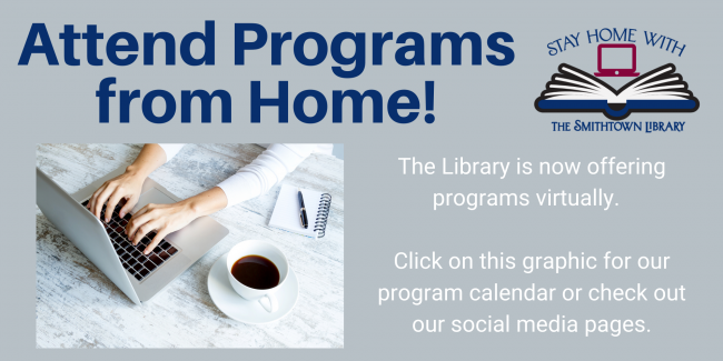 The Library is now doing virtual programs.