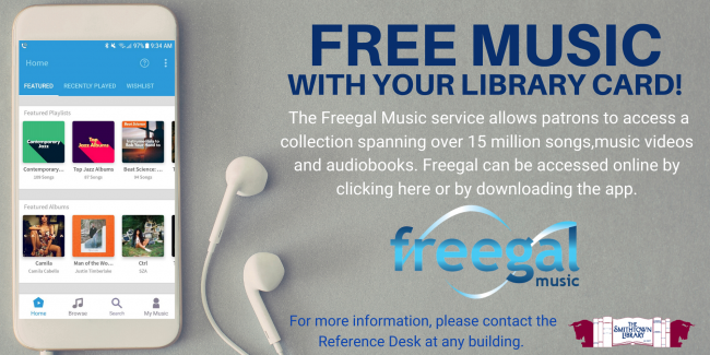 The Library now offers Freegal.