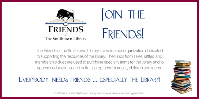 Join the Friends of the Library