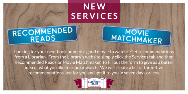 Two new great services from the Library.